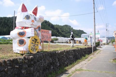 下吉田フルーツ街道 案山子(かかし)祭り