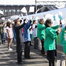 西武鉄道S-TRAIN歓迎式
