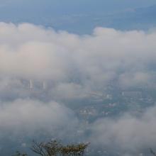 美の山雲海の画像