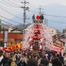 山田の春祭りの画像