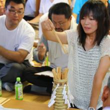 平成30年龍勢奉納抽選会の画像