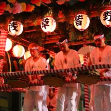 浅草雷門盆踊りの画像
