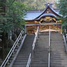 寶登山神社巨大絵馬の画像