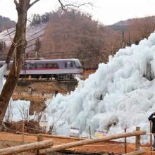 あしがくぼの氷柱の画像