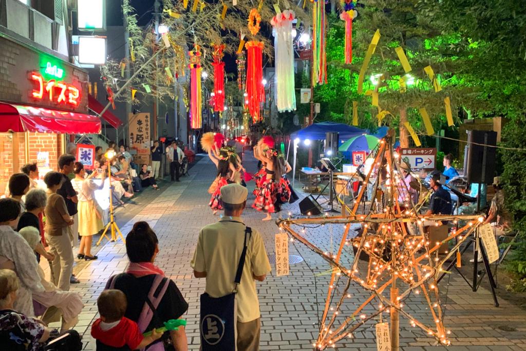 番場七夕祭りの画像