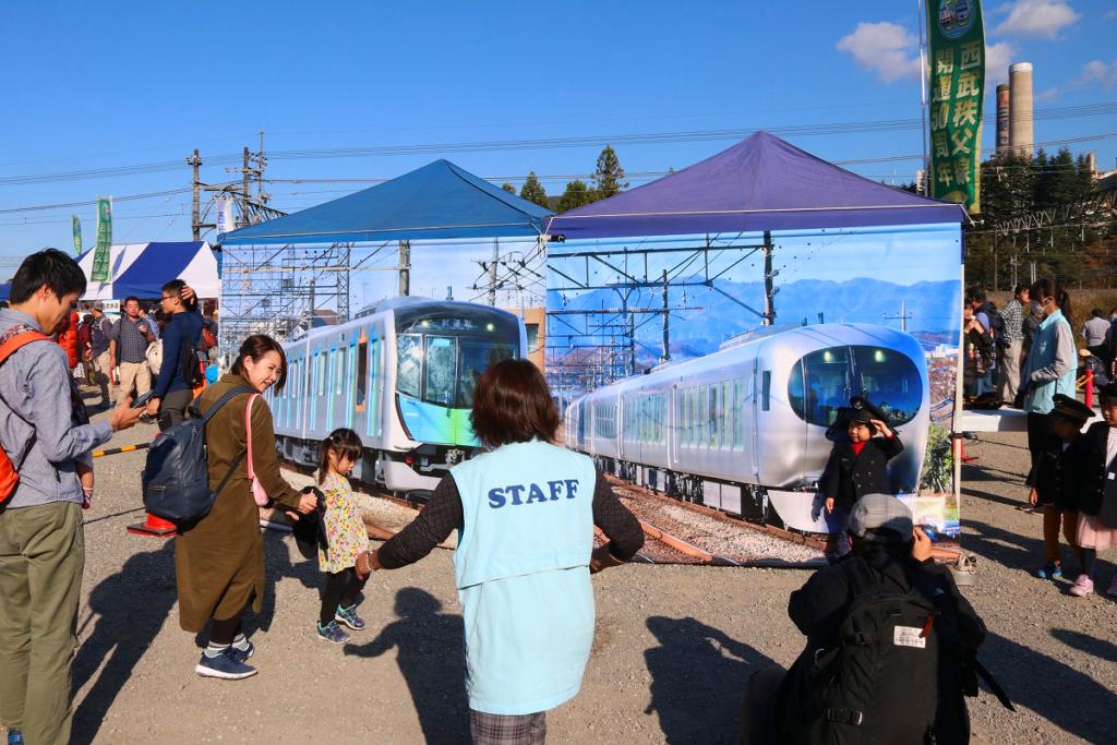 ちちぶ車両基地酒場2019in横瀬の画像