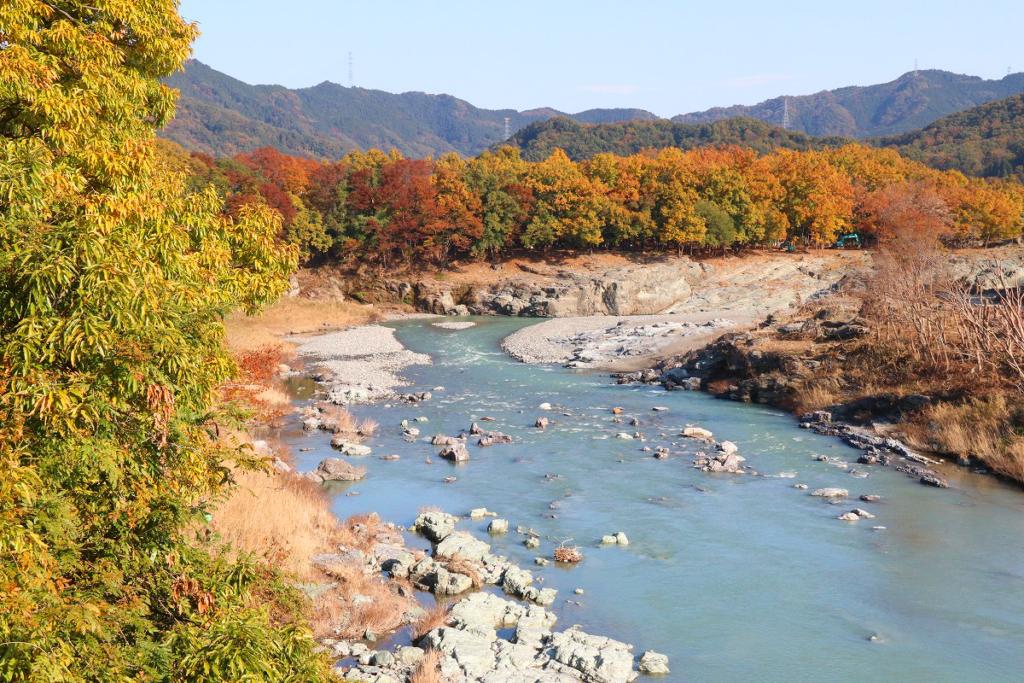長瀞町金石水管橋の画像