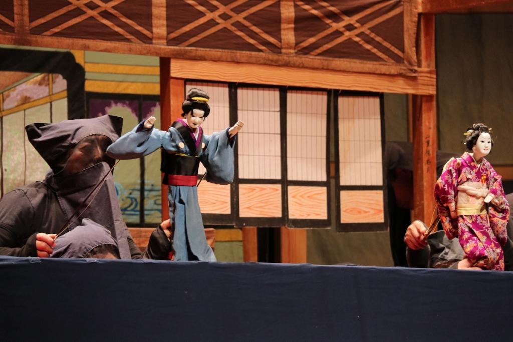 白久の串人形芝居の画像