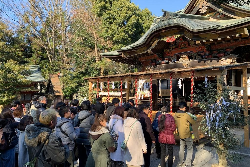 秩父神社 初詣の画像