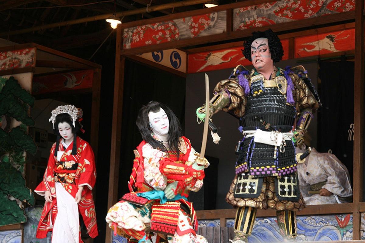 秩父市 萩平歌舞伎