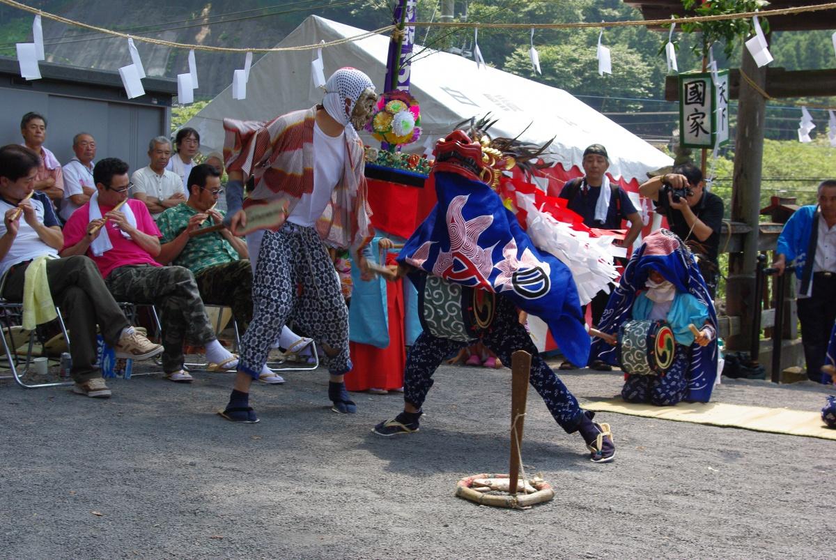 横瀬町 芦ヶ久保獅子舞