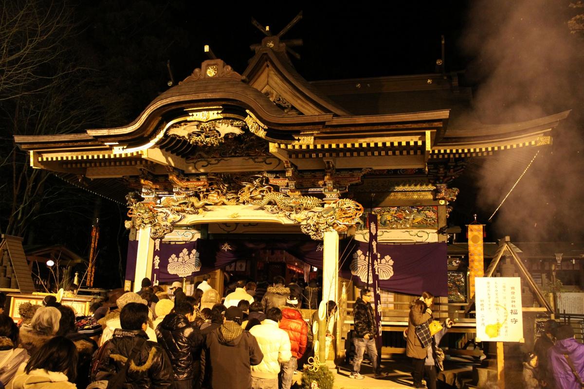 大晦日の寶登山神社