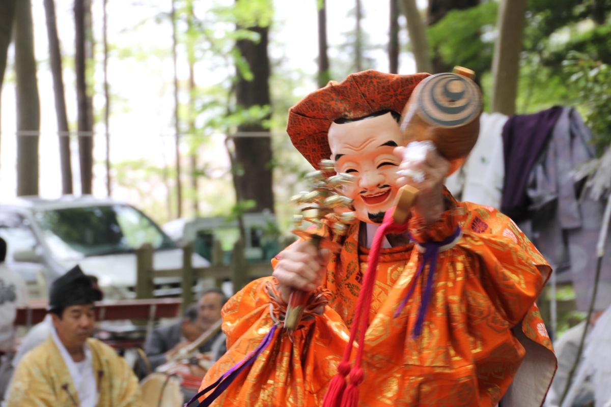 宝登山奥宮祭