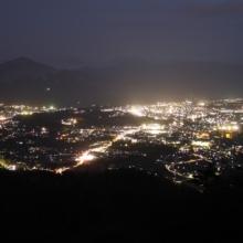 美の山夜景