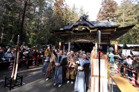 寶登山神社 節分追儺祭の画像
