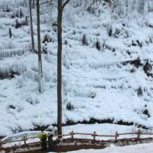 横瀬町・あしがくぼの氷柱
