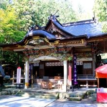 宝登山神社紅葉の画像