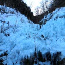 あしがくぼの氷柱画像