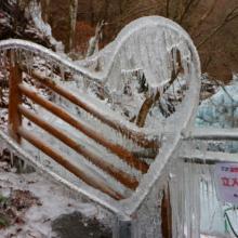 尾ノ内百景(冷っけぇ~)氷柱の画像