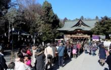 秩父神社初詣の画像