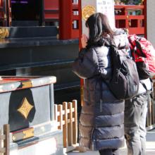 三峯神社師走の画像