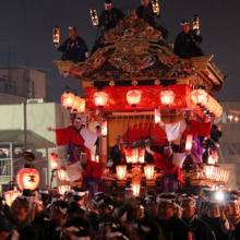 秩父夜祭の画像