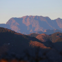 宝登山山頂初日の出