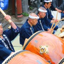 令和元年 祝太鼓の画像
