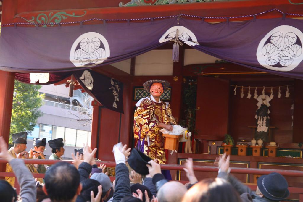 秩父神社節分追儺祭の画像