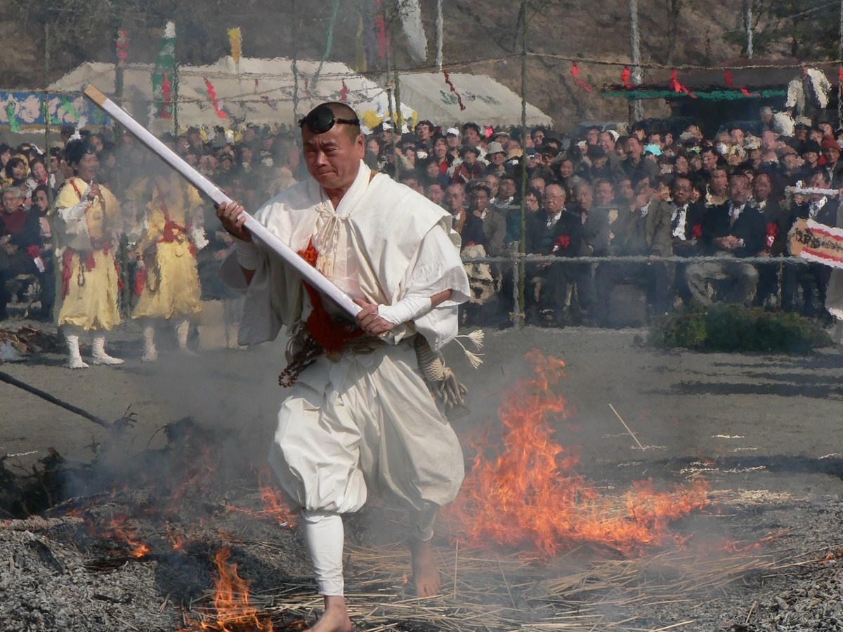 長瀞火祭り2