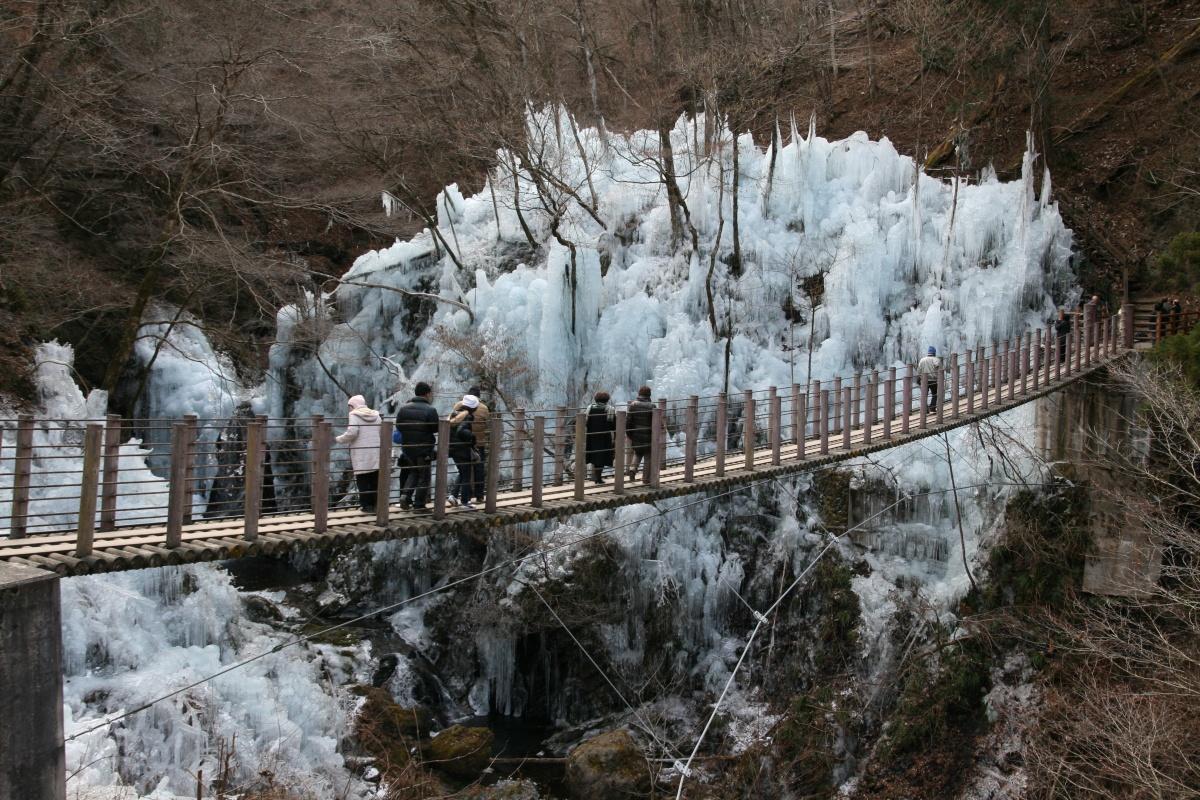 尾ノ内の氷柱