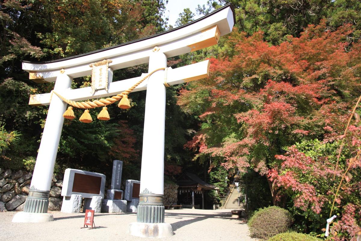 長瀞町 紅葉 寶登山神社