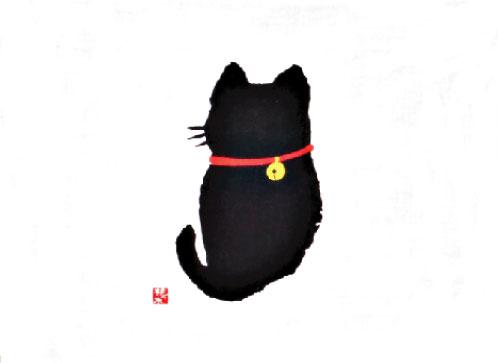 桃の木-鈴猫