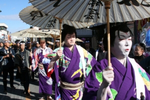 おねり(歌舞伎道中) 秩父歌舞伎正和会