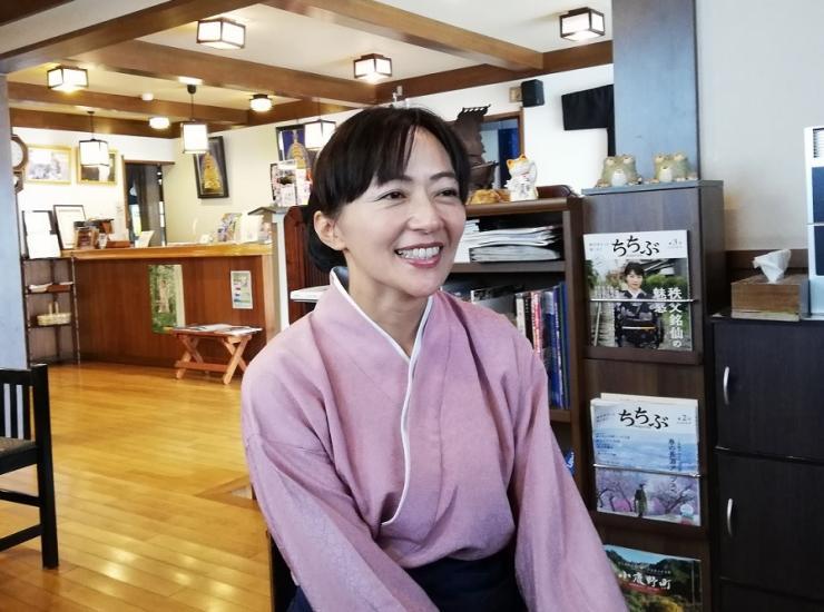 須﨑旅館女将須﨑 真紀子さん