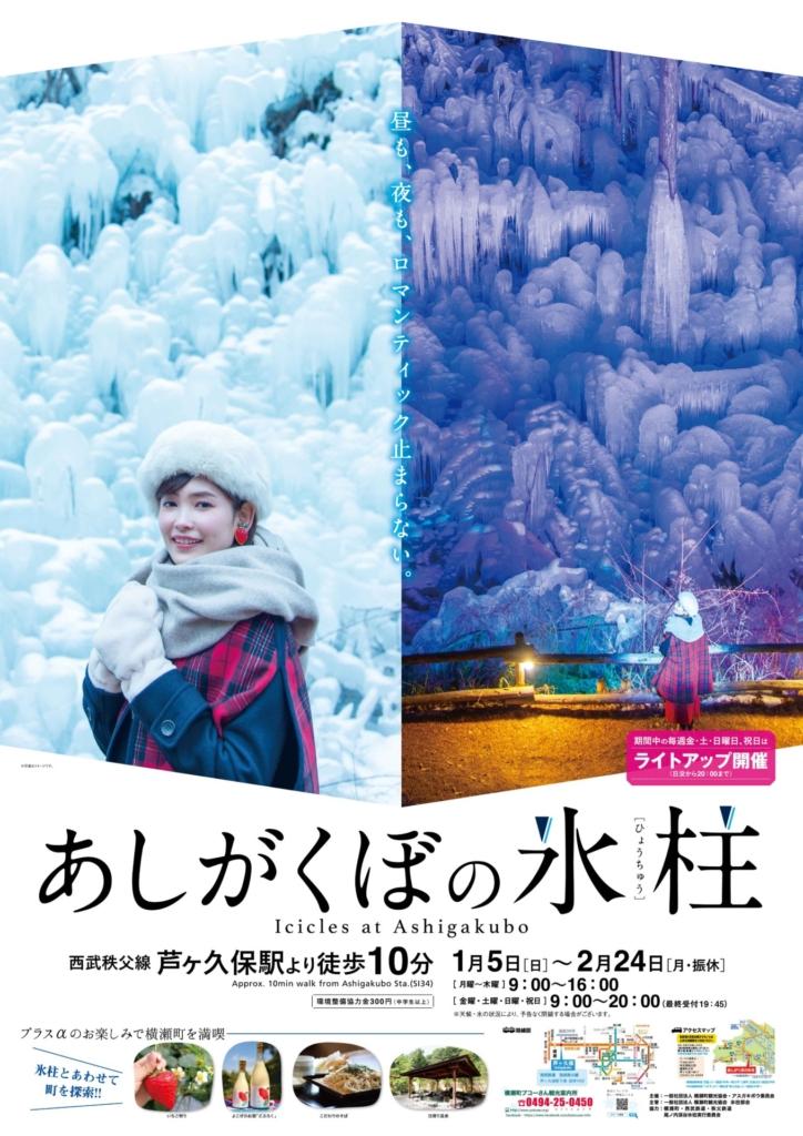 あしがくぼの氷柱2020 – Icicles at Ashigakubo –