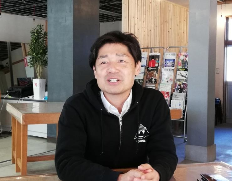 横瀬町役場まち経営課田端将伸さん