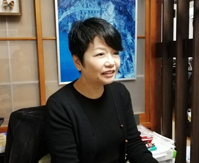 皆野民俗芸能奏楽研修会で講師を務める關根勢津子さん